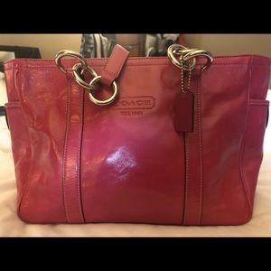 Authentic Pink Coach Bag